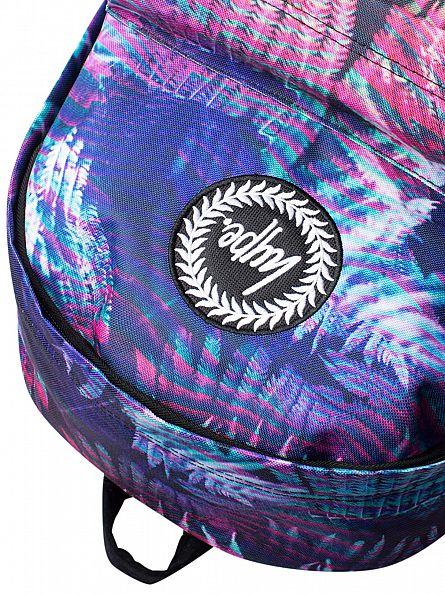 Hype Multi Floro Ferns Logo Backpack