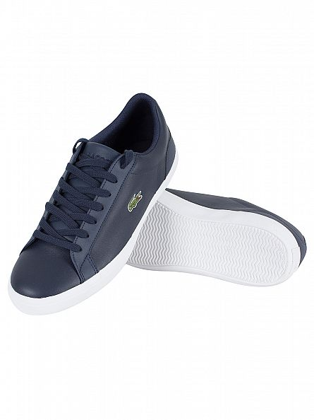 Lacoste Navy Lerond BL 1 CAM Trainers