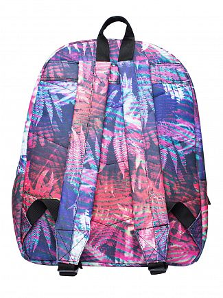 Hype Multi Floro Ferns Logo Backpack