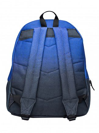 Hype Navy/Black Speckle Fade Logo Backpack
