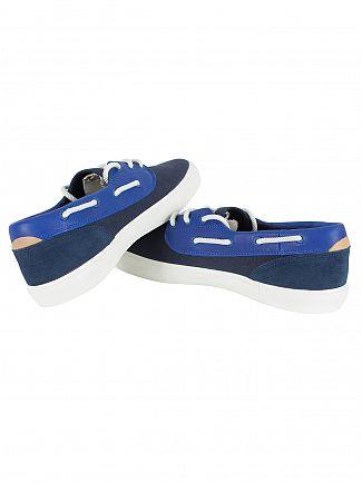 Lacoste Navy Jouer Deck 117 1 CAM Deck Shoes