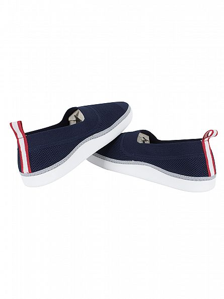 Lacoste Navy Lydro 117 1 CAM Slip-on Trainers