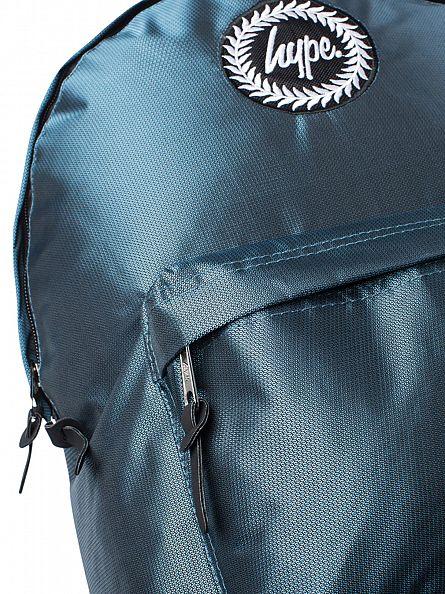 Hype Green Link Logo Backpack