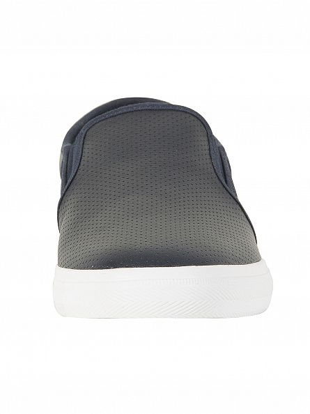 Lacoste Navy Gazon BL 1 CAM Trainers