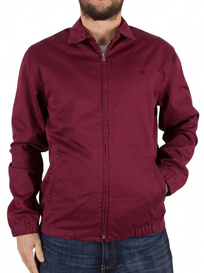Carhartt WIP Varnish Rinsed Madison Logo Jacket