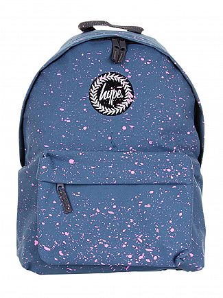 Hype Airforce/Pink Splat Logo Backpack