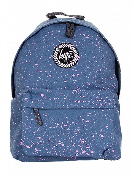 Hype Airforce/Pink Splat Logo Backpack