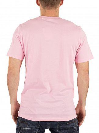 Carhartt WIP Vegas Pink Pocket Logo T-Shirt