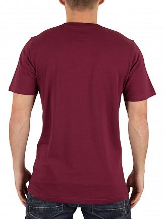 Carhartt WIP Varnish Red Pocket Logo T-Shirt