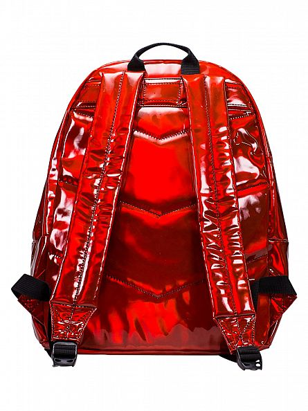 Hype Red Holographic Logo Backpack