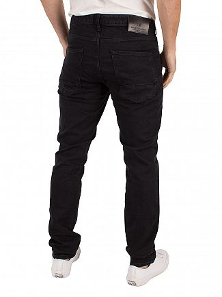 Scotch & Soda Black The Nero Skim Skinny Fit Jeans