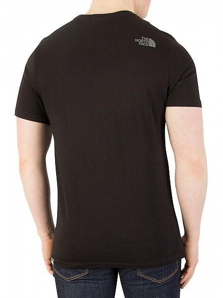 The North Face Black Easy Graphic T-Shirt