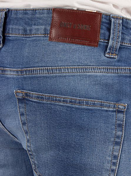 Only & Sons Medium Blue Loom 5602 Slim Fit Jeans