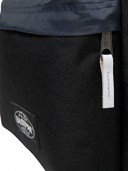 Eastpak Combo Black Padded PakR Logo Backpack