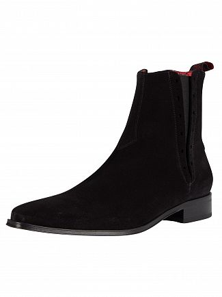Jeffery-West-Black-Suede-Boots