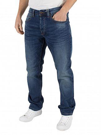 Only & Sons Med Blue Weft 5076 Regular Fit Jeans