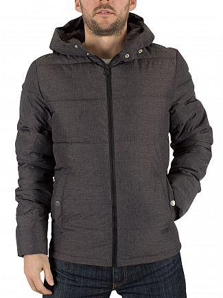 Original Penguin Dark Shadow Insulated Melange Puffa Jacket