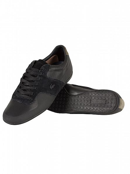 Lacoste Black Turnier 117 1 CAM Trainers