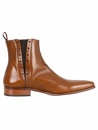 Jeffery West Tan Tequila Boots