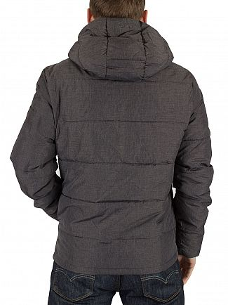 Original Penguin Dark Shadow Insulated Melange Puffa Jacket