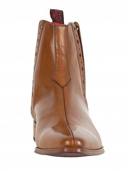 Jeffery West Tan Tequila Boots