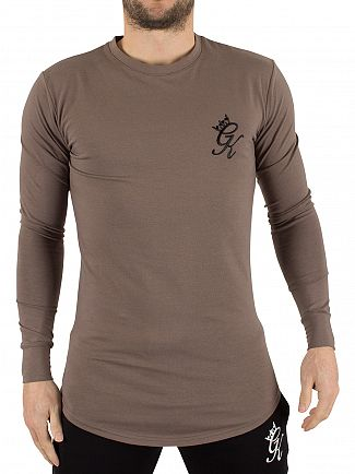 Gym King Iron Undergarment Longsleeved Logo T-Shirt