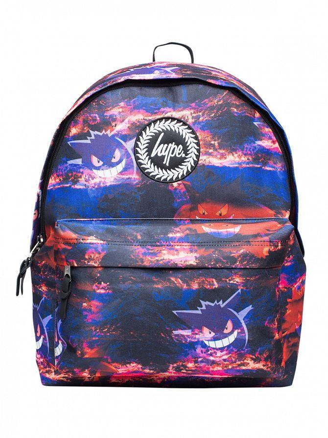 Hype Multi Genger Clouds Logo Backpack