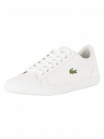 Lacoste White Lerond BL 2 CAM Trainers