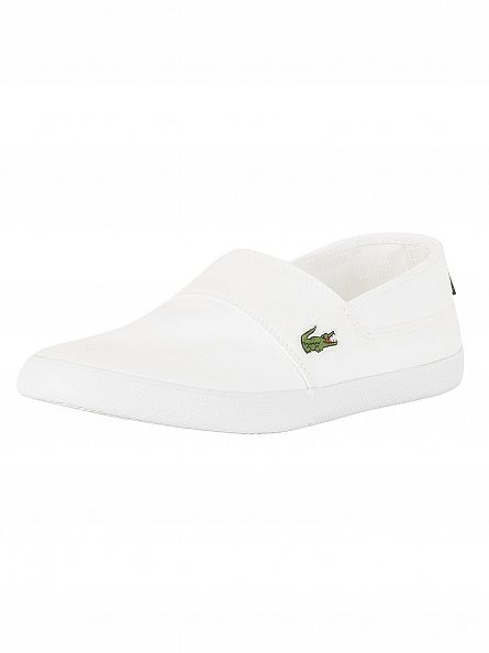 Lacoste White Marice BL 2 CAM Trainers