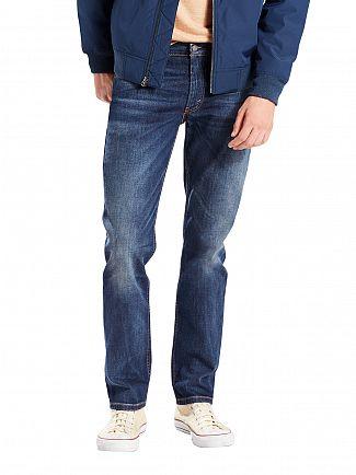 Levi's Dark Wash 511 Slim Fit Crosstown Jeans
