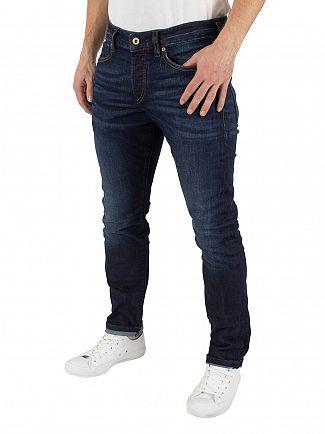 Scotch & Soda Beaten Track Blue Ralston Slim Fit Jeans