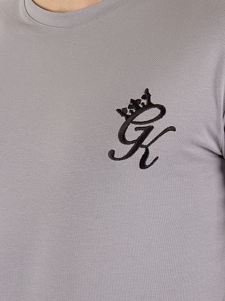 Gym King Drizzle Undergarment Longsleeved Logo T-Shirt