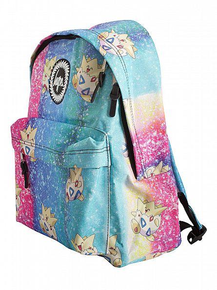 Hype Blue/Pink Togepi Pokemon Logo Backpack