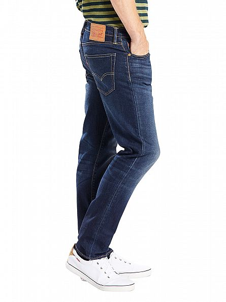 Levi's Dark Blue 502 Regular Taper City Park Jeans
