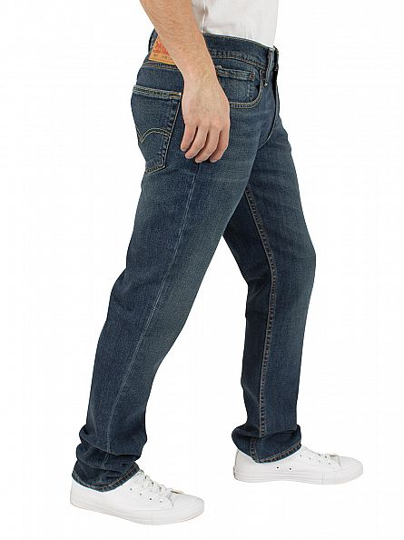 Levi's Mid Denim 511 Slim Fit Green Onions Jeans