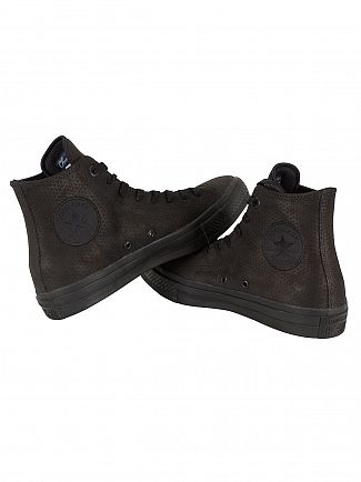 Converse Black/Black/Gum Chuck Taylor All Star II HI Trainers
