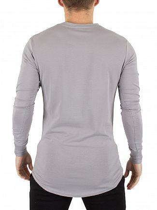 Gym King Drizzle Undergarment Longsleeved Logo T-Shirt