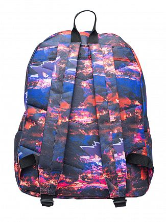 Hype Multi Genger Clouds Logo Backpack