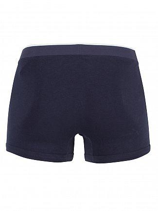 Lacoste Dark Blue 3 Pack Cotton Stretch Logo Trunks