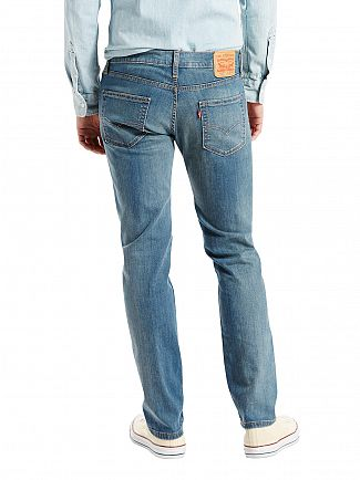 Levi's Light Wash 511 Slim Fit Pumped Up Jeans