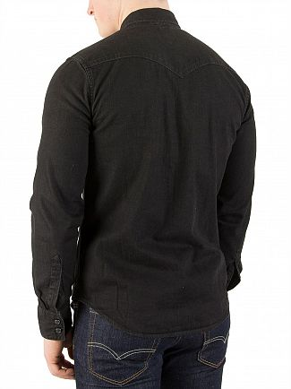 Levi's Black Barstow Western Pocket Shirt