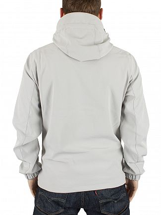 Jack & Jones Oyster Mushroom Pelle Logo Hooded Jacket