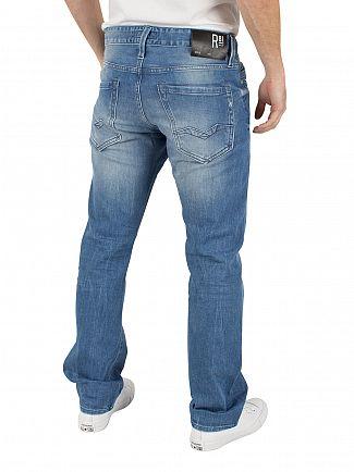 Replay Light Denim Laser Waitom Regular Slim Fit Jeans
