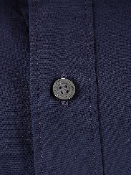 Tommy Hilfiger Denim Navy Original Slim Fit Logo Shirt