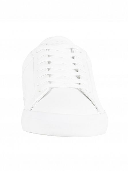 Lacoste White Lerond BL 1 CAM Trainers