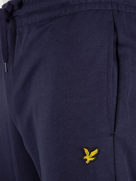 Lyle & Scott Navy Tricot Logo Joggers