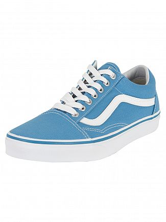 Vans Cendre Blue Old Skool Canvas Trainers