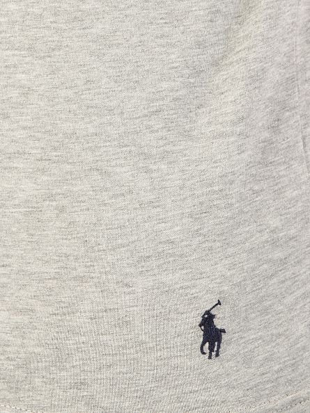 Polo Ralph Lauren Andover Heather/Andover Heather 2 Pack Stretch Cotton Logo T-Shirt