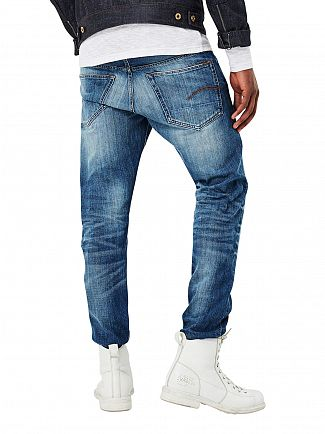 G-Star Medium Aged 3301 Tapered Jeans