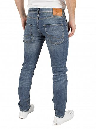 Jack & Jones Blue Denim Glenn Original Slim Fit 152 Jeans